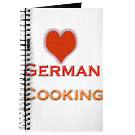 I love German Cooking Journal