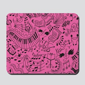 Music Doodle Gift Mousepad