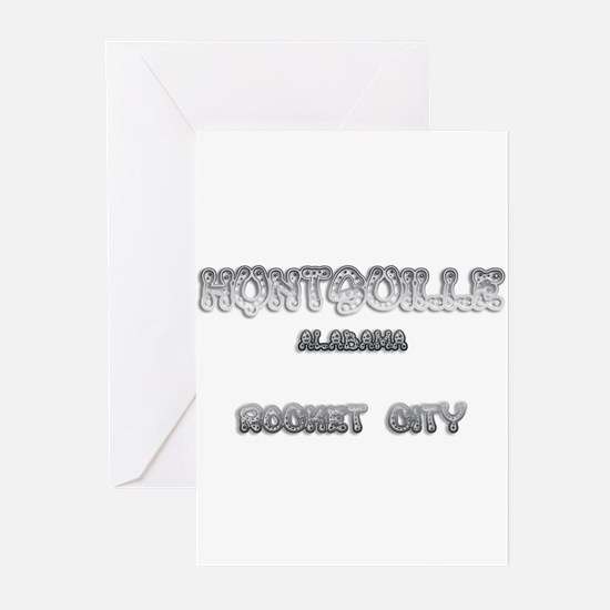 Huntsville Alabama Rocket City 1 Greeting Cards (P