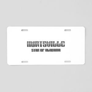 Huntsville Star of Alabama 2 Aluminum License Plat