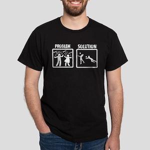 Problem Solution Beach Volleyball T-Shirt