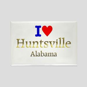 I Love Huntsville Alabama 1 Rectangle Magnet (10 p