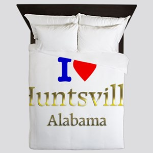 I Love Huntsville Alabama 1 Queen Duvet