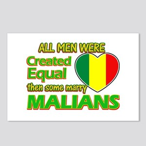 Malian wife designs Postcards (Package of 8)