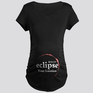 Personalize Eclipse 2017 Maternity T-Shirt