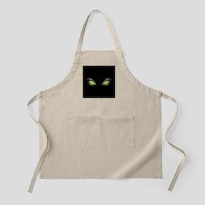 Cat Green Eyes Apron