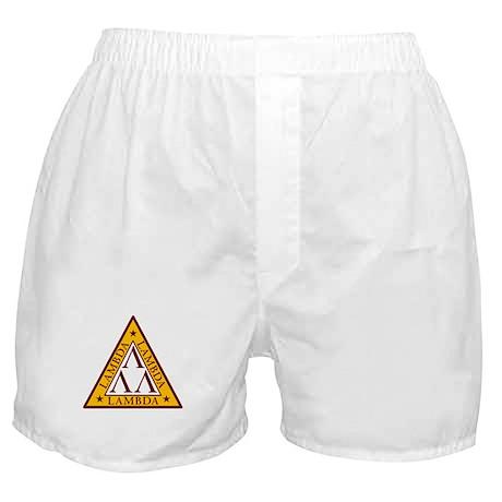 """Tri-Lambda"" Boxer Shorts"