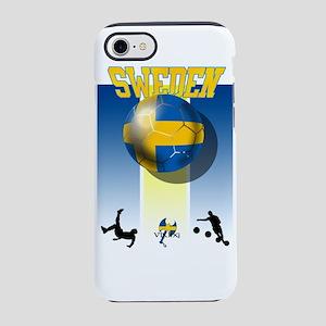 Swedish Football iPhone 7 Tough Case