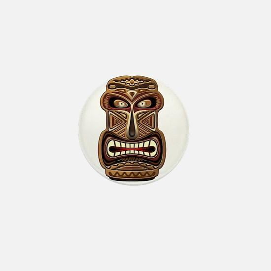 Africa Ethnic Mask Totem Mini Button