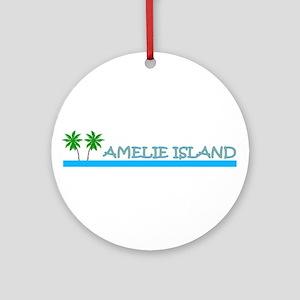 Amelie Island, Florida Ornament (Round)