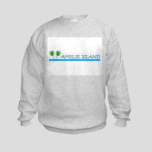 Amelie Island, Florida Kids Sweatshirt