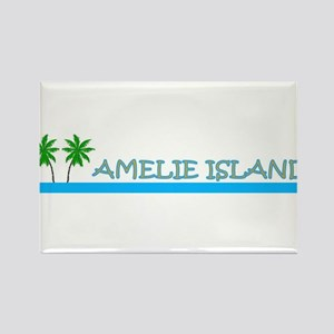 Amelie Island, Florida Rectangle Magnet
