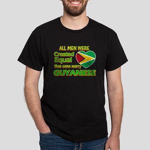 Guyanese wife designs Dark T-Shirt