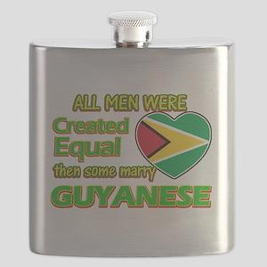 Guyanese wife designs Flask