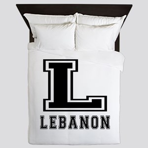 Lebanon Designs Queen Duvet