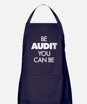 Be Audit You Can Be Apron (dark)