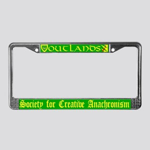 Outlands License Plate Frame