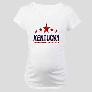 Kentucky U.S.A. Maternity T-Shirt