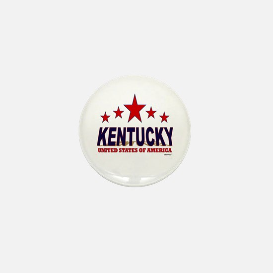 Kentucky U.S.A. Mini Button