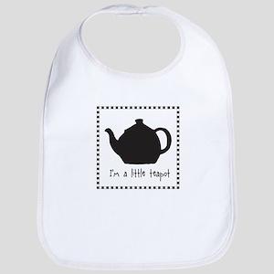 I'm A Little Teapot Bib