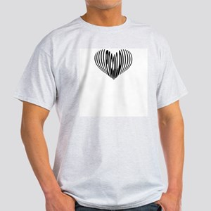 Piccolo Heart Ash Grey T-Shirt