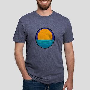 THE HORIZON Mens Tri-blend T-Shirt