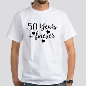 50th Anniversary Couples Gift T-Shirt