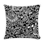 Music Teacher Doodles Gift Everyday Pillow
