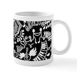 Music Teacher Doodles Gift Mugs