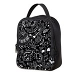 Music Teacher Doodles Gift Neoprene Lunch Bag
