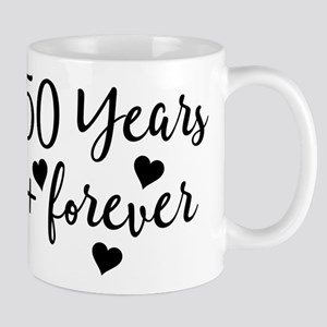 50th Anniversary Couples Gift Mugs