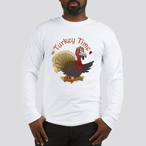 Turkey Time Long Sleeve T-Shirt