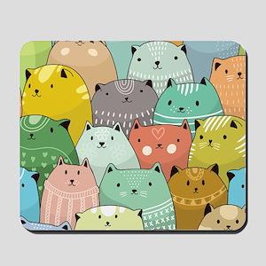 Super Cute Cat Pattern Mousepad