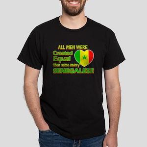 Senegalese wife designs Dark T-Shirt