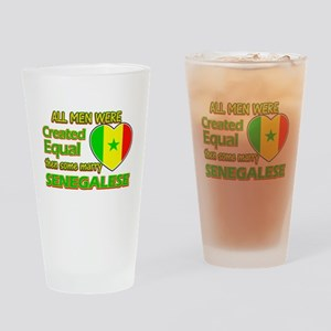 Senegalese wife designs Drinking Glass