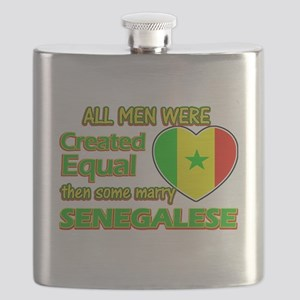 Senegalese wife designs Flask