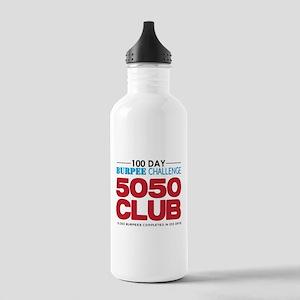 100 Day Burpee Challenge 5050 Club Water Bottle