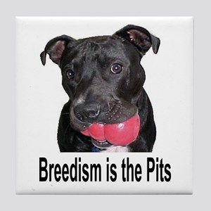 Breedism is the Pits Tile Coaster