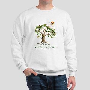 Kenyan Nature Proverb Sweatshirt