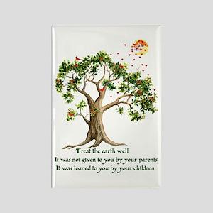 Kenyan Nature Proverb Rectangle Magnet