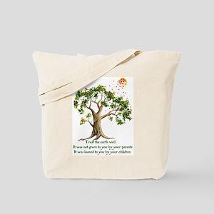 Kenyan Nature Proverb Tote Bag