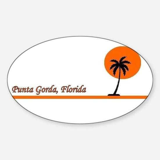 Punta Gorda, Florida Oval Decal