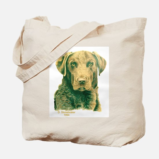 Dead Grass Chesapeake Tote Bag