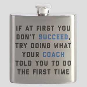 Try Doing What Your Coach Told You Flask