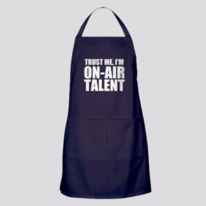 Trust Me, I'm On-Air Talent Apron (dark)
