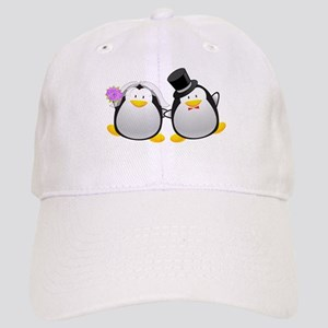 Penguin Bride and Groom Cap