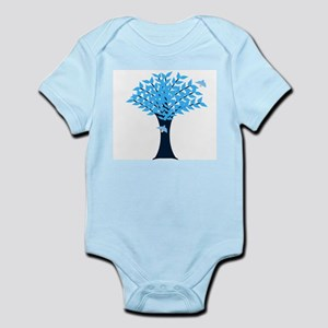 Bluebird Tree Body Suit