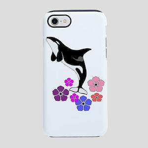 FLORAL SPLASH iPhone 7 Tough Case