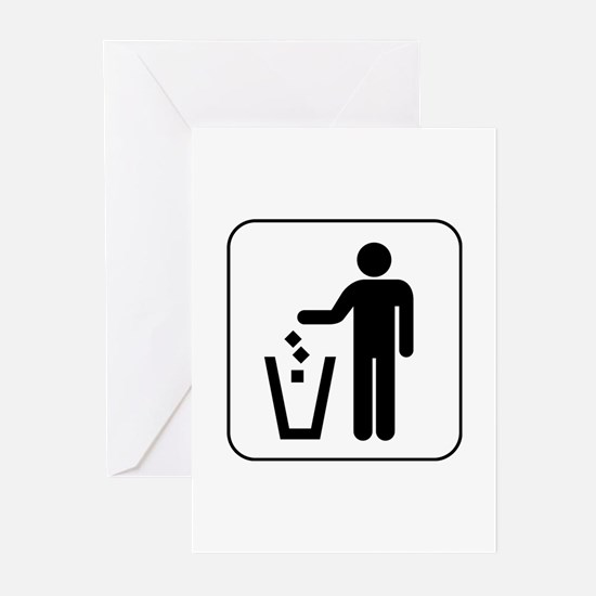 Trash Greeting Cards (Pk of 10)