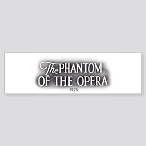 The Phantom of the Opera 1925 Bumper Sticker
